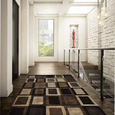 contemporary hall by Alexanian Carpet & Flooring