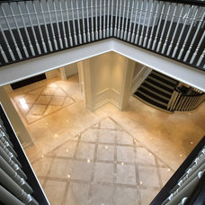 Contemporary Hall by Cazan Design Group