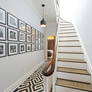 Contemporary townhouse centrally situated on one of Hoboken's finest blocks.