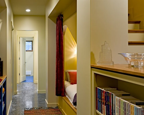 Inspiration for a contemporary hallway remodel in Burlington