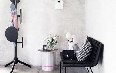 Fristående klädhängare – supersnyggt och praktiskt för små rum