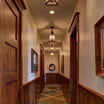 Copper Lanterns for interior spaces