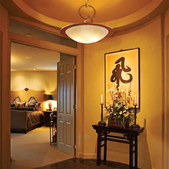 eclectic hall by Capitol Lighting