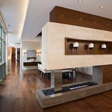 Modern Hall by Nicholas Design Collaborative