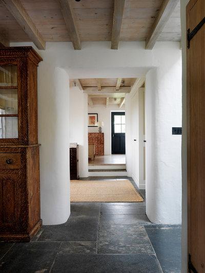 Traditional Hallway & Landing by Marion Lichtig Ltd
