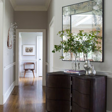 Contemporary Hall by S. B. Long Interiors