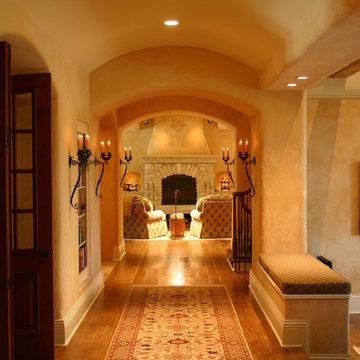 Country French Estate: Hallway