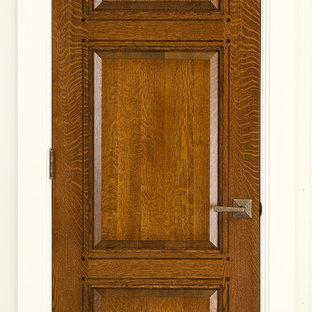 Craftsman Doors 3-panel Quartersawn White Oak