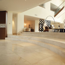 Contemporary Hall by Lapicida Stone Group