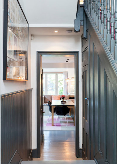 Scandinavian Hallway & Landing by Chris Snook