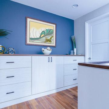 Custom Cabinets and Storage for a Kahala Home