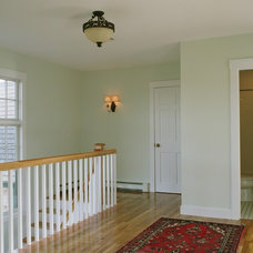 Traditional Hall by Thorson Restoration & Construction