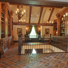 Traditional Hall by Brown Design Group
