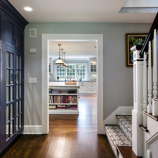 Inspiration for a timeless hallway remodel in New York
