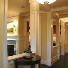 Traditional Hall by David Ludwig - Architect