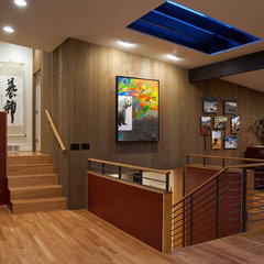 contemporary hall by CAST architecture