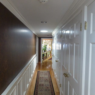 Inspiration for a timeless hallway remodel in Los Angeles