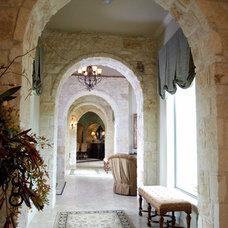 Mediterranean Hall by Stadler Custom Homes