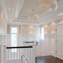 traditional hall by Michelle Winick Design