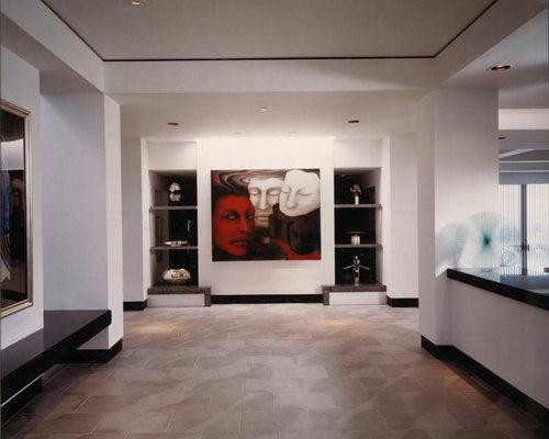 ger umiger moderner flur ideen f r die flurgestaltung. Black Bedroom Furniture Sets. Home Design Ideas