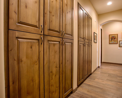 Southwestern Wood Stained Kitchen and Bathroom - Cheyenne