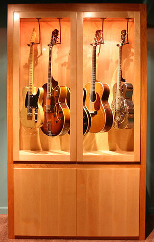 Guitar Display Cabinet Ideas Pictures Remodel And Decor