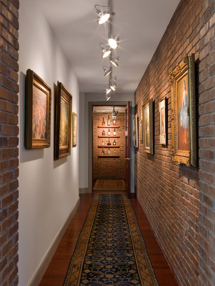 Eclectic Hall by Cravotta Interiors