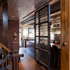 Industrial Hall by Rock Cliff Custom Homes