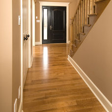 Traditional Hall by Gaylord Hardwood Flooring