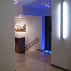 Modern Hall by 186 Lighting Design Group - Gregg Mackell