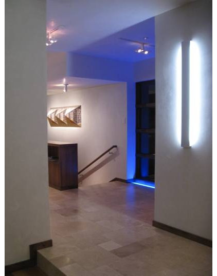 modern hall by 186 Lighting Design Group - Gregg Mackell