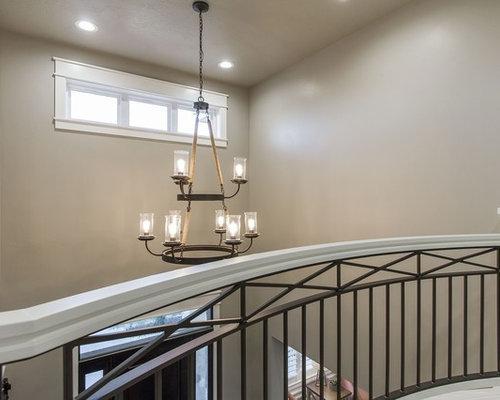 landhausstil flur mit teppichboden ideen design bilder. Black Bedroom Furniture Sets. Home Design Ideas
