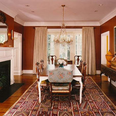 Traditional Hall by Sharon Portnoy Design