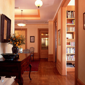 East Meets West In Classic Family Apartment