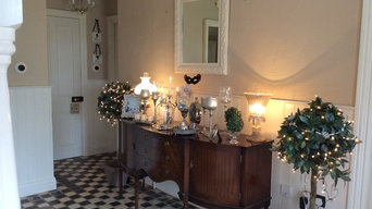 Eclectic Hall way