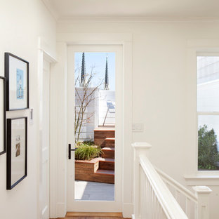 Example of a classic hallway design in San Francisco