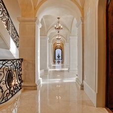 Mediterranean Hall by Calais Custom Homes