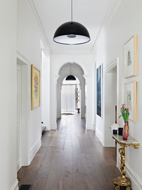 75 Trendy Victorian Hallway Design Ideas Pictures Of