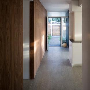 Design ideas for a midcentury hallway in San Francisco.