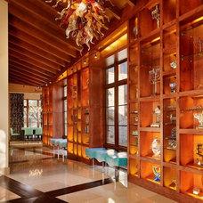 Modern Hall by Palmer Todd