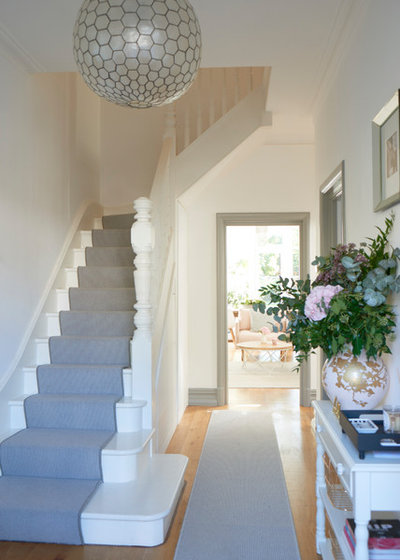 Contemporary Hallway & Landing by Interior Therapy