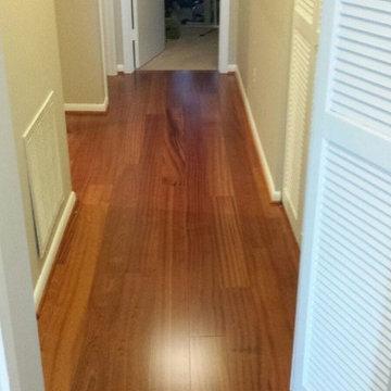 Engineered African Sapele Wood Flooring