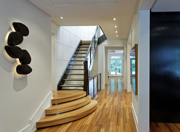 Contemporary Corridor by Douglas Design Studio