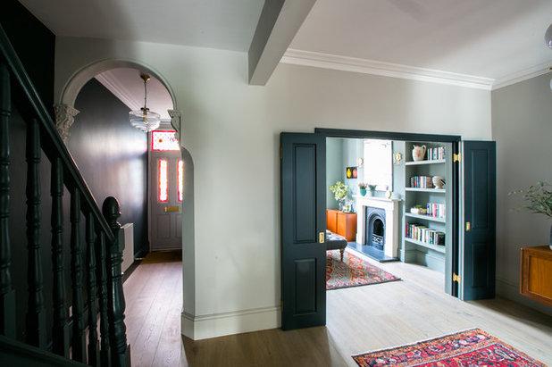 Midcentury Hallway & Landing by Otta Design