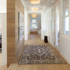 contemporary hall by Charlie Simmons - Charlie & Co. Design, Ltd.