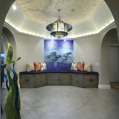 contemporary hall by Brown's Interior Design