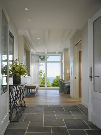 modern hall by Robbins Architecture