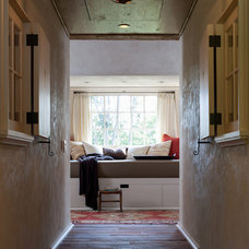 Traditional Hall by Kate Jackson Design
