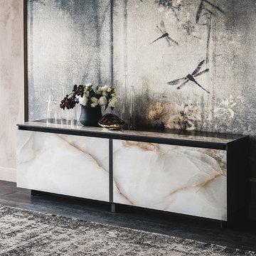 Europa Keramik Sideboard by Cattelan Italia