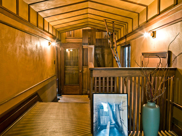 Traditional Hall Experience the Holidays at Frank Lloyd Wright's Home and Studio